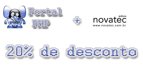 Parceria Portal PHP e Novatec